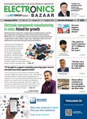 ELECTRONICS BAZAAR Magazine Cover January 2018