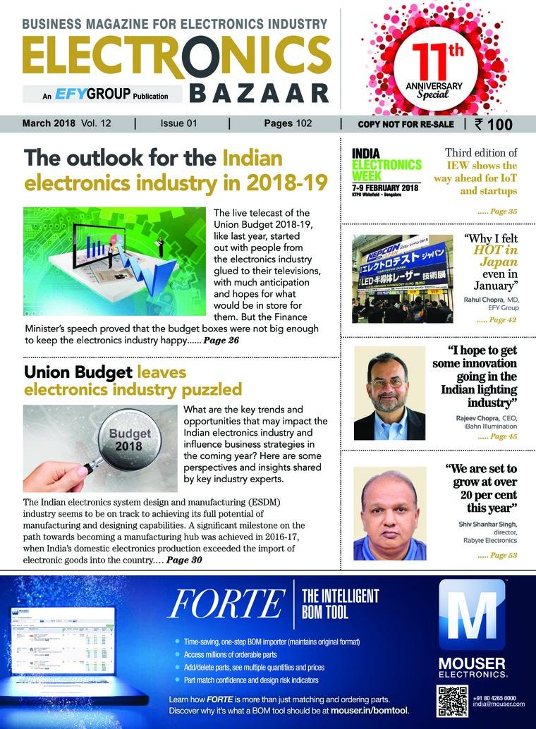 Majalah Digital ELECTRONICS BAZAAR Maret 2018