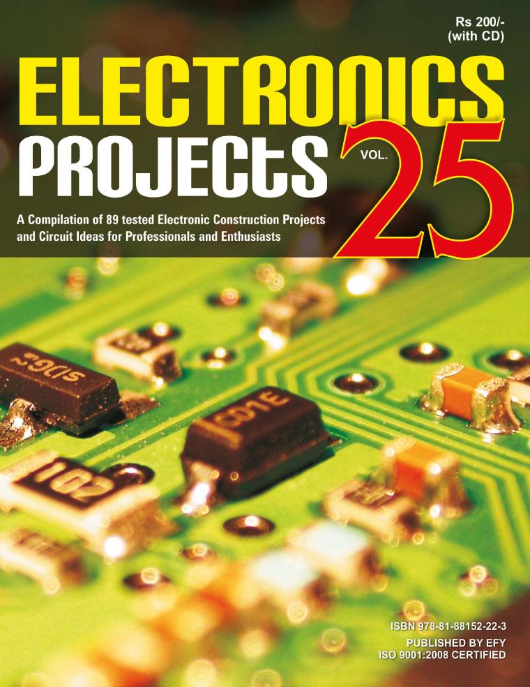 ELECTRONICS PROJECTS / VOL 25 Book by EFY Enterprises Pvt Ltd ...