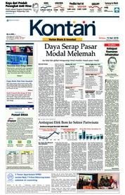 Cover Koran Kontan 15 Mei 2018