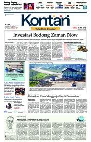 Koran Kontan Cover 26 May 2018