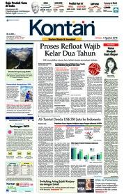 Cover Koran Kontan