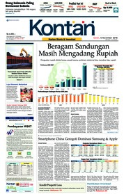 Cover Koran Kontan 05 November 2018