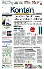 Cover Koran Kontan 06 November 2018