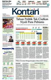 Cover Koran Kontan 02 Januari 2019