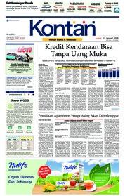 Cover Koran Kontan 11 Januari 2019
