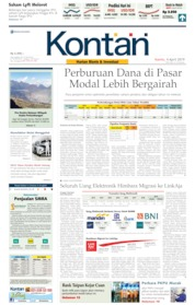 Cover Koran Kontan 04 April 2019