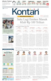 Cover Koran Kontan 09 April 2019