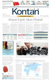 Koran Kontan Cover 13 April 2019