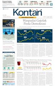 Koran Kontan Cover 15 April 2019