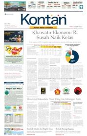 Cover Koran Kontan 29 Mei 2019