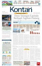 Cover Koran Kontan 26 Juni 2019