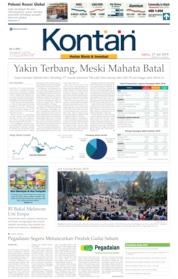Cover Koran Kontan 27 Juli 2019