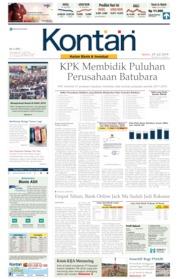 Koran Kontan Cover 29 July 2019