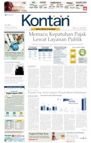 Koran Kontan Cover 31 July 2019