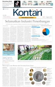 Koran Kontan Cover 03 August 2019