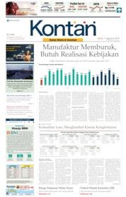 Koran Kontan Cover 05 August 2019