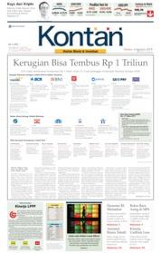 Koran Kontan Cover 06 August 2019