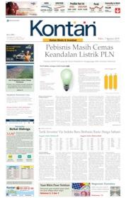 Koran Kontan Cover 07 August 2019