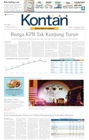 Cover Koran Kontan 10 Agustus 2019