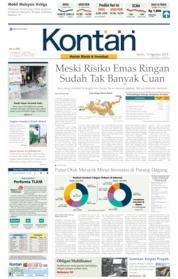 Cover Koran Kontan 12 Agustus 2019