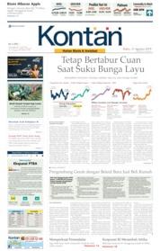 Cover Koran Kontan 21 Agustus 2019