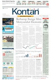 Cover Koran Kontan 23 Agustus 2019