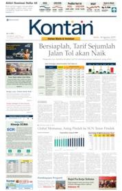 Koran Kontan Cover 26 August 2019