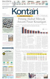 Cover Koran Kontan 17 September 2019