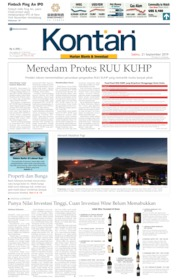 Koran Kontan Cover 21 September 2019