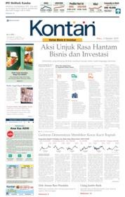 Cover Koran Kontan 02 Oktober 2019