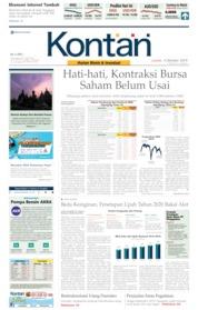 Cover Koran Kontan 04 Oktober 2019