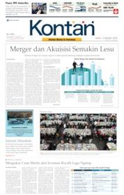 Cover Koran Kontan 05 Oktober 2019