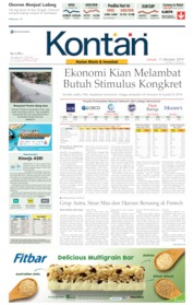 Koran Kontan Cover 11 October 2019