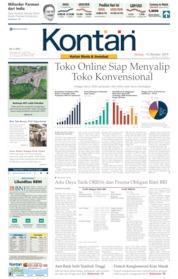 Cover Koran Kontan 15 Oktober 2019