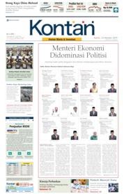 Koran Kontan Cover 24 October 2019