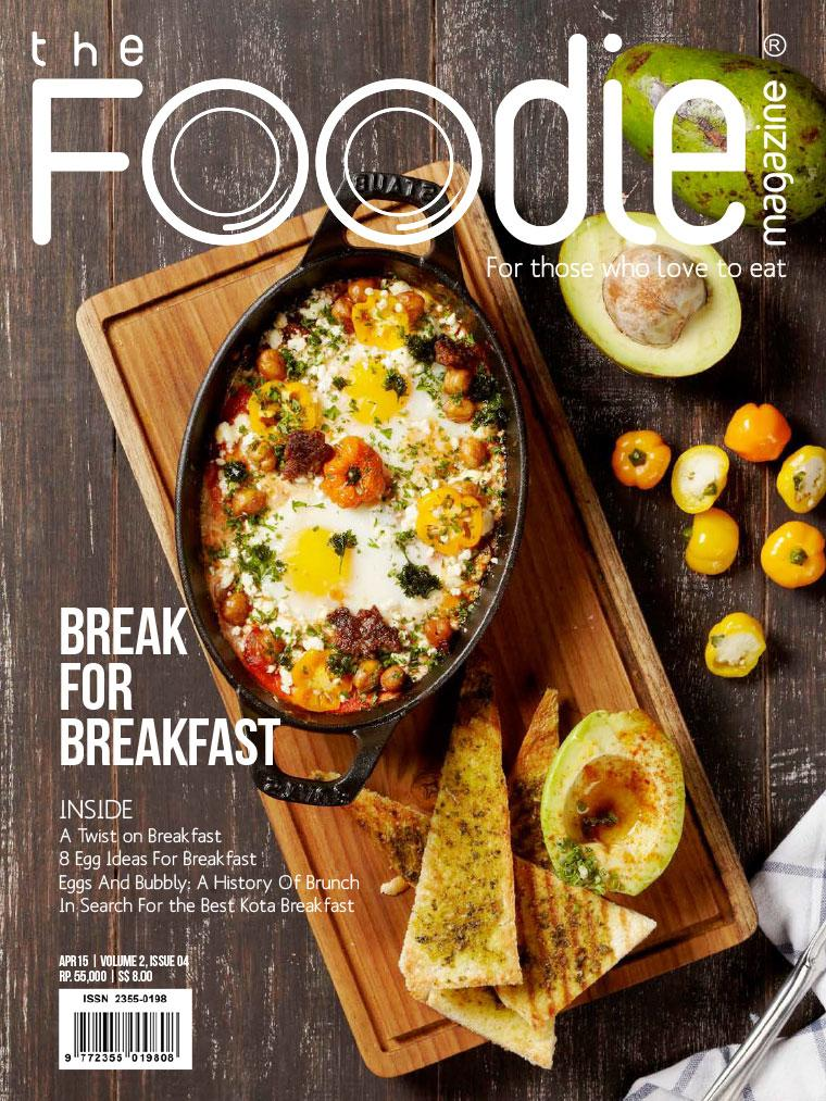 The Foodie Digital Magazine April 2015