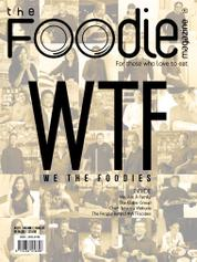 The Foodie Magazine Cover July 2015