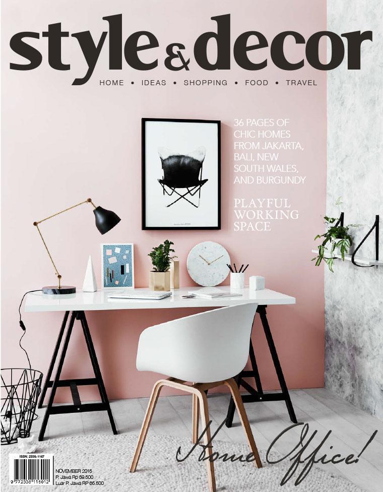 Majalah Digital style & decor November 2015