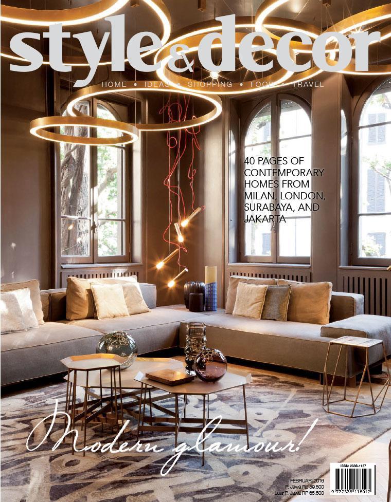 Majalah Digital style & decor Februari 2016