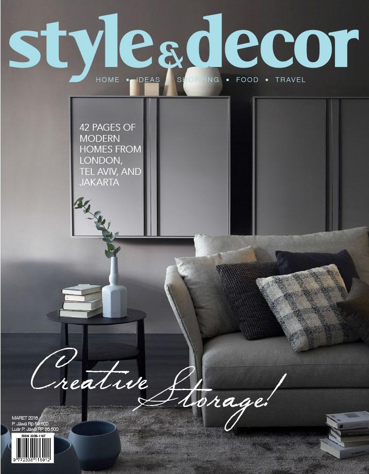 Majalah Digital style & decor Maret 2016