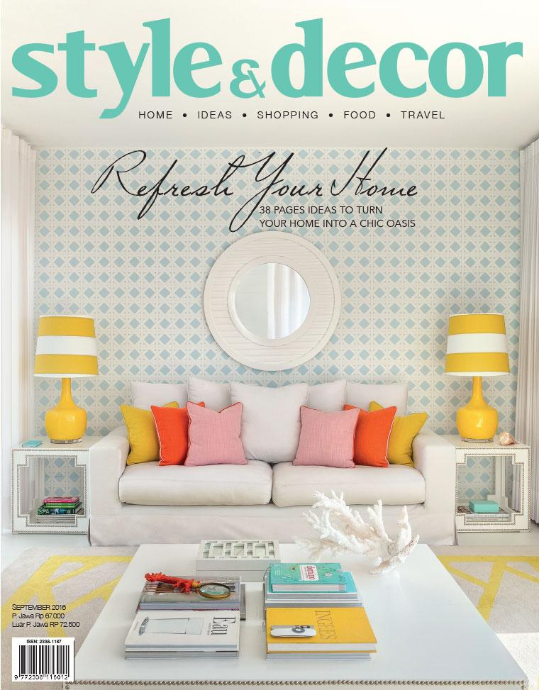Majalah Digital style & decor September 2016