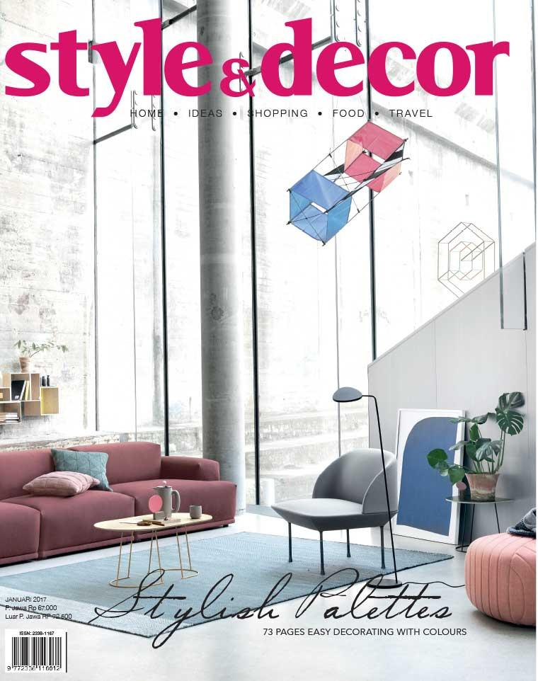 Majalah Digital style & decor Januari 2017