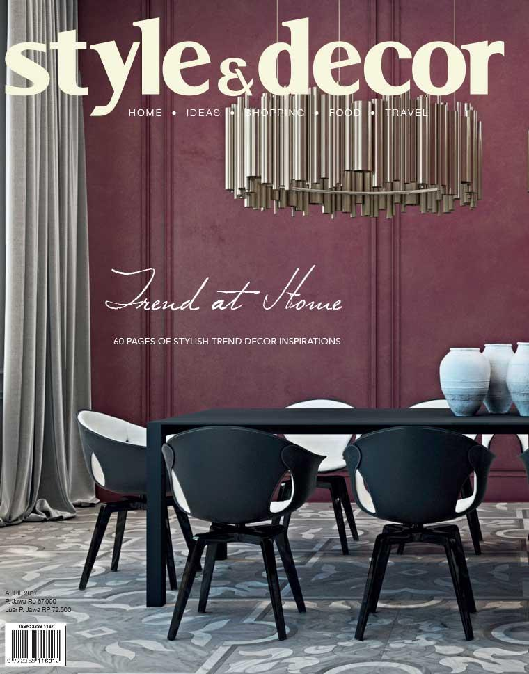 Majalah Digital style & decor April 2017