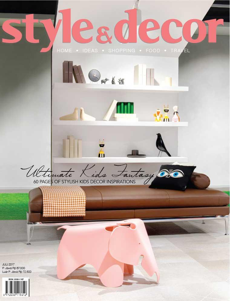Style & decor Digital Magazine July 2017