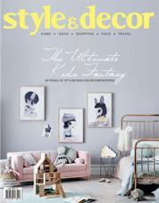 Cover Majalah style & decor Juli 2016