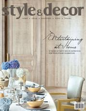 Cover Majalah style & decor Oktober 2016