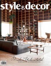 Style & decor Magazine Cover February 2017