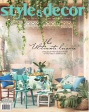Style & decor Magazine Cover June 2017