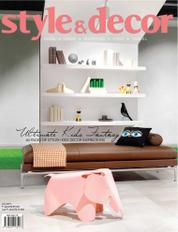 Style & decor Magazine Cover July 2017